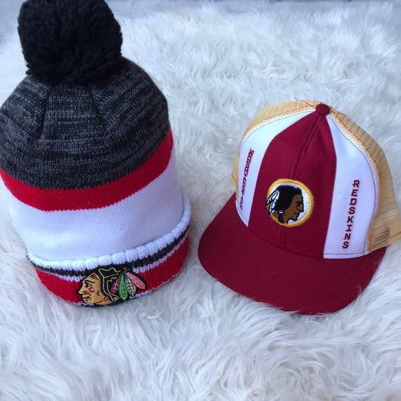 63e984e5783 Reebok Accessories | Washington Redskins Hat Nhl Collection Pom ...